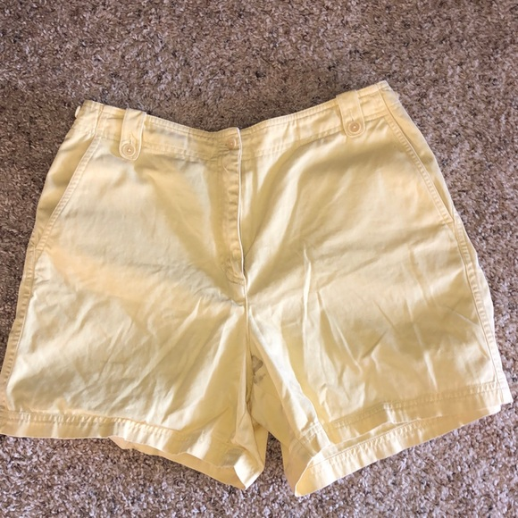 Lauren Ralph Lauren Pants - Yellow Shorts